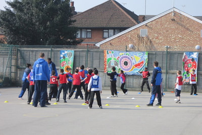 Promoting Healthy Lifestyles and Positive Attitudes to Education Using Positive Role Models